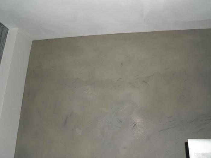 20170318&050838_Stucwerk Badkamer Kosten ~ Pandomo Betonlook Frescolori goud zilver Fijnschuurwerk op kleur Leem